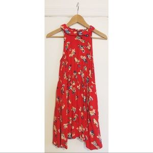 Floral Collared Flare Summer Dress